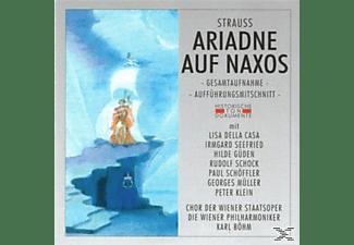 Wiener Philharmoniker, Chor Der Wiener Staatsoper - Ariadne Auf Naxos (Ga)  - (CD)
