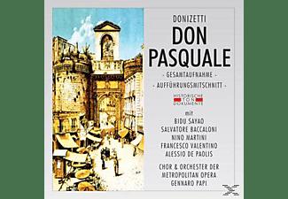 Metropolitan Opera Orchestra & Chorus - Don Pasquale (Ga)  - (CD)