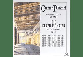 Piazzini Carmen - Die Klaviersonaten Teil 1  - (CD)