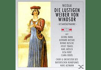 ORCH.D.BAY.RUNDFUNKS - Die Lustigen Weiber Von Windsor  - (CD)