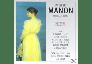 ORCH.D.OPERA COMIQUE - Manon  - (CD)
