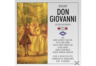 Chor & Orch.Des Frankfurter Rundfunks - Don Giovanni (Ga)  - (CD)