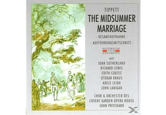 Chor Und Orchester Des Covent Garden Opera House, VARIOUS - The Midsummer Marriage  - (CD)