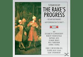 Coro E Orchestra Del Teatro Alla Scala Di Milano - The Rake's Progress (Ga)  - (CD)
