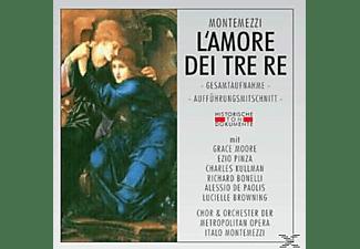 Metropolitan Opera Orchestra & Chorus - L'amore Dei Tre Re (Ga)  - (CD)