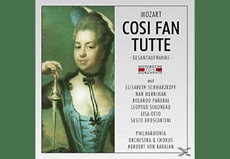 Herbert von Karajan - Cosi Fan Tutte  - (CD)