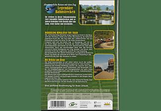 Legendäre Bahnstrecken: Darjeeling Himalayan Toy Train und River Kwai Thailand DVD