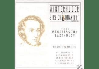Winterhuder Streichquartett - Streichquartette 1-5  - (CD)