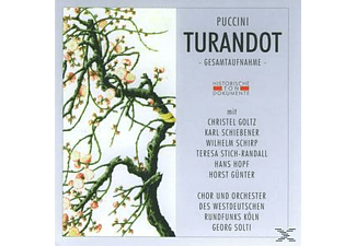 Giacomo Puccini - Turandot  - (CD)