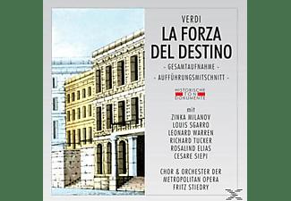 CHOR & ORCH. DER METROPOLITAN OPERA - La Forza Del Destino  - (CD)