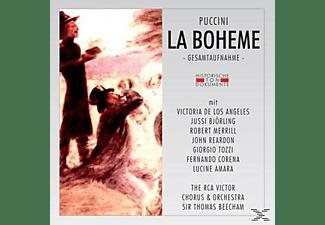 Jussi Björling, Victoria De Los Angeles, Robert Merrill, Reardo - Puccini: La Boheme (Gesamtaufnahme)  - (CD)