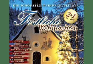 VARIOUS - Festliche Weihnachten  - (DVD)