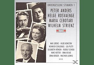 VARIOUS - Unvergessene Stimmen 1  - (CD)