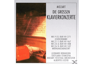 Stanceva - Die Grossen Klavierkonzerte  - (CD)