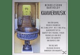 Coll.Con BASO, Bamberger Str.Qu - Kammermusik  - (CD)