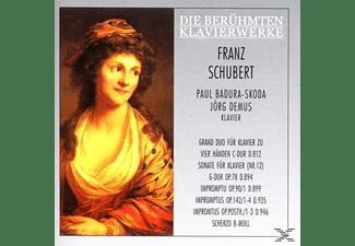 Jörg Demus, Paul Badura-skoda - Grand Duo/Impromptus/Scherzo/+  - (CD)