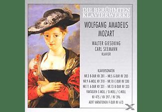 Carl Seemann - Klav.Son.281/283/310/330/331/+  - (CD)