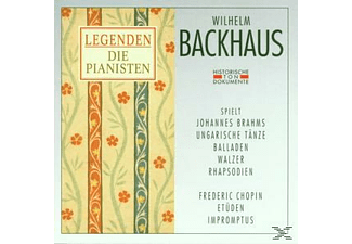 Wilhelm Backhaus - Wilhelm Backhaus  - (CD)
