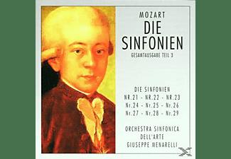 Orchestra Sinfonica Dell'arte - Mozart-Die Sinfonien Teil 3  - (CD)