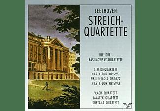 Janacek Quartet - Streichquartette 7-9  - (CD)