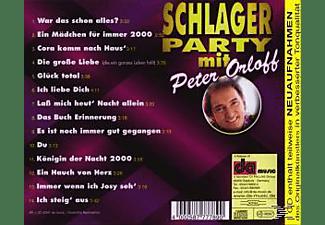 Peter Orloff - Schlagerparty Mit (Enthält Re-Recordings)  - (CD)