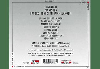 Arturo Benedetti Michelangeli - Legenden-Arturo Benedetti Michelangeli  - (CD)