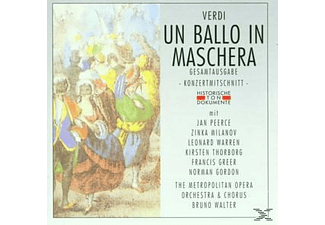 Metropolitan Opera Orchestra & Chorus - Un Ballo In Maschera (Ga)  - (CD)
