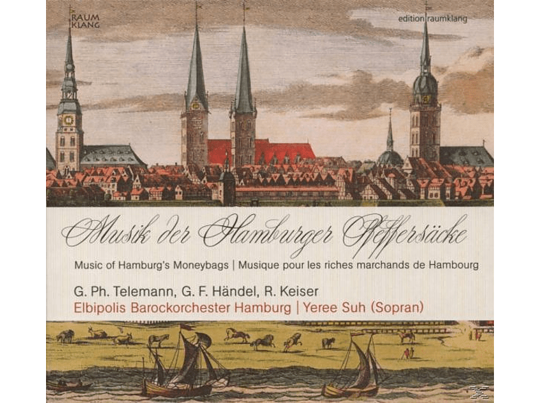 ELBIPOLIS BAROCHORCH.HAMBURG - Musik Der Hamburger Pfeffersäcke [CD]