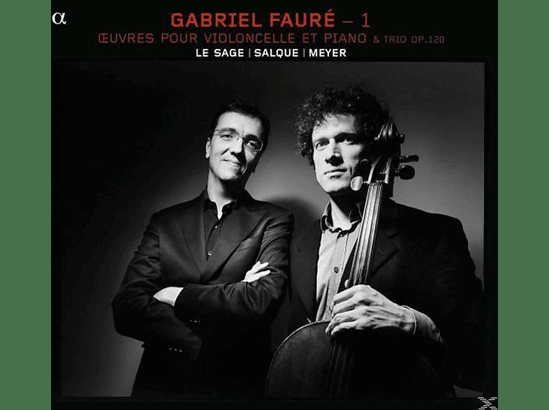 Meyer, Le Sage, Salque - Oeuvres Pour Violoncelle Et Piano [CD]