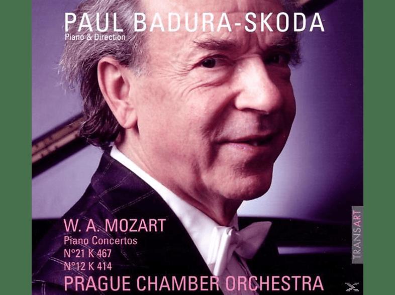 Paul Badura-skoda - Mozart: PIANO CONCERTOS N21 K467 / N12 K414 [CD]