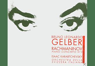 Gelber, ORCH.SVIZZERA ITAL, Karabtchevsky, Gelber/Karabtchevsky/Orch.Svizzera Ital. - Klavierkonzert 3  - (CD)