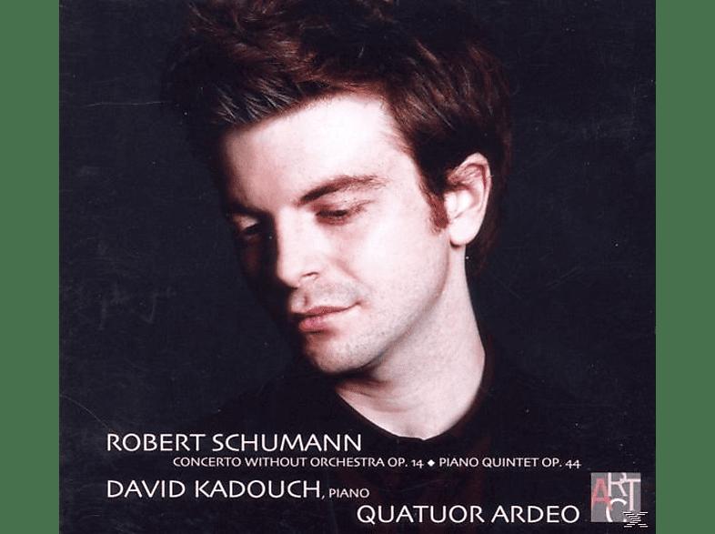 David Kadouch, Quatuor Ardeo - Klaviersonate op.14/Quintett op.44 [CD]