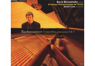 Boris Berezovsky - PIANO CONCERTOS 1&4 - (CD)