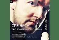 LES AMBASSADEURS/ARTE DEL SUONATORI - Flötenkonzerte & Triosonaten [CD]