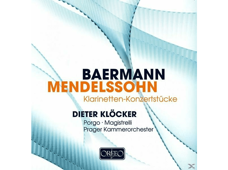 Dieter Klöcker - Klarinetten-Konzertstücke [CD]