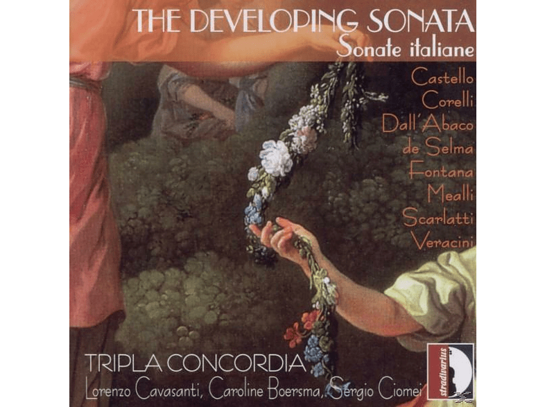 Tripla Concordia - The Developing Sonata-Sonate italiane [CD]