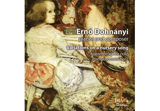 Ernõ Dohnányi - Variations on a Nursery Song Op.25 - (CD)