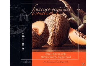 BRONZI,ENRICO & BARCHI,MICHELE - Geminiani: 6 Sonatas for Cello & Basso Continuo Op. 5 - (CD)
