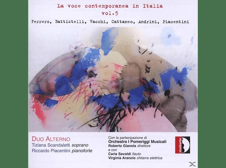 Duo Alterno/Gianola/Savoldi/Arancio - Zeitgenössischer Gesang In Italien Vol.5 [CD]