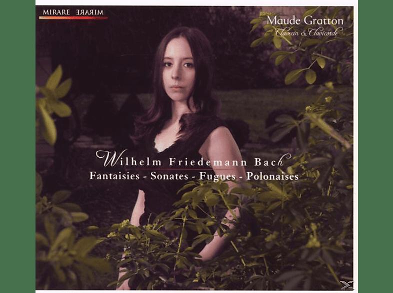 Maude Gratton - Fantasie, Sonates, Fugues XX [CD]