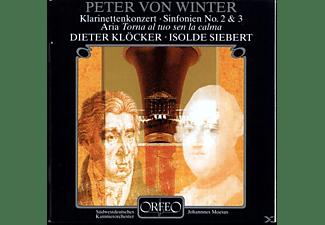 Dieter Klöcker, Isolde Siebert, Johannes Moesus, The Pforzheim Chamber Orchestra - Klarinettenkonzert/Aria/Sinfonien 2/3  - (CD)