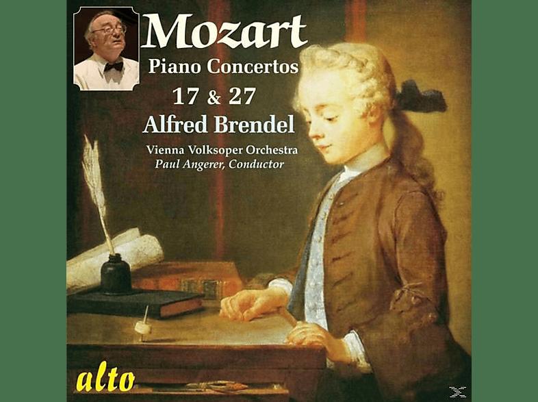 Alfred Brendel, Wiener Volksoper - Mozart Klavierkonzerte 17+27 [CD]