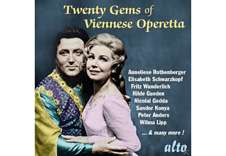 VARIOUS - Twenty Gems Of Viennese Operetta - (CD)