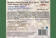 Oleg Kagan, Sviatoslav Richter, Chicago Symphony Orchestra - Brahms: Piano Concerto No.2 / Violin Sonata No.1 [CD]