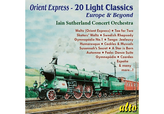 Iain Sutherland Concert Orchestra - Orient Express-20 Light Classics: Europe & Beyond - (CD)