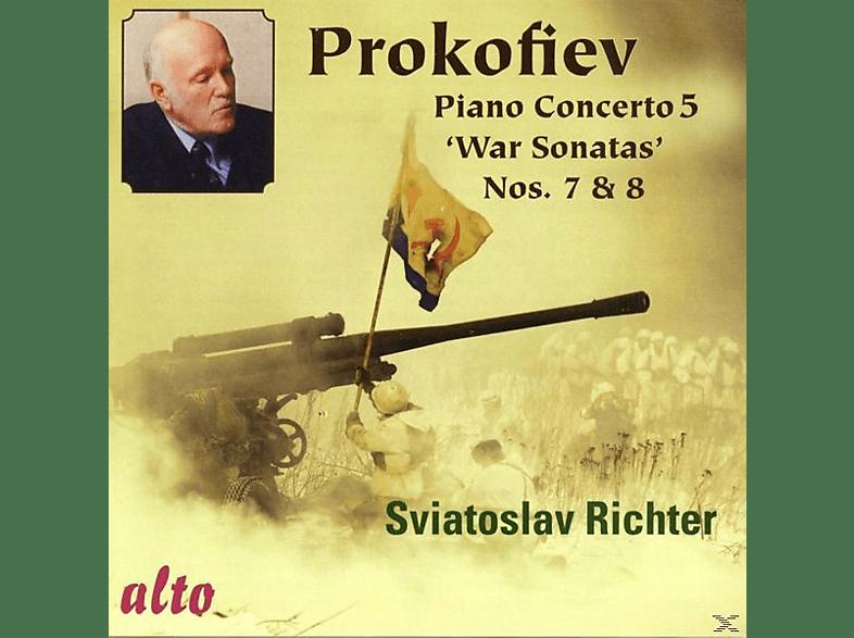 Warsaw National Philharmonic Orchestra, Richter Svjatoslav - Klavierkonzert 5 / Sonaten 7 & 8 / U.A [CD]