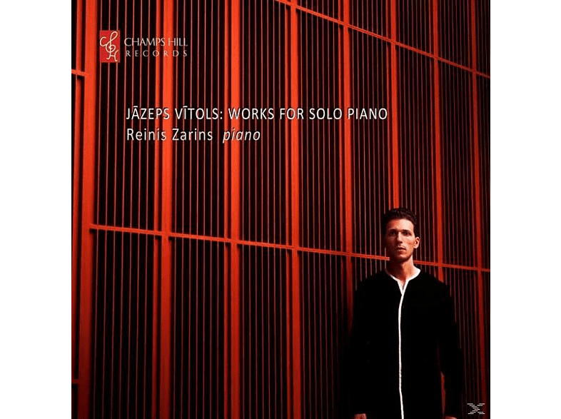 Reinis Zarins - Works for Piano Solo [CD]