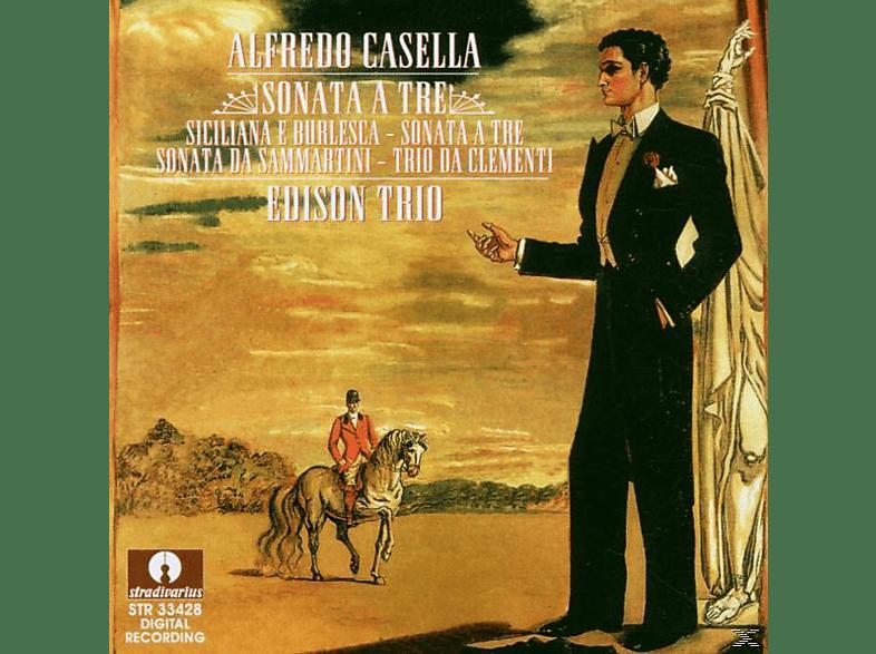 Edison Trio - Sonata A Tre/Werke Für Klaviertrio (GA) [CD]