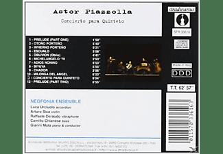 Neofonia Ensemble - Concierto Para Quinteto  - (CD)