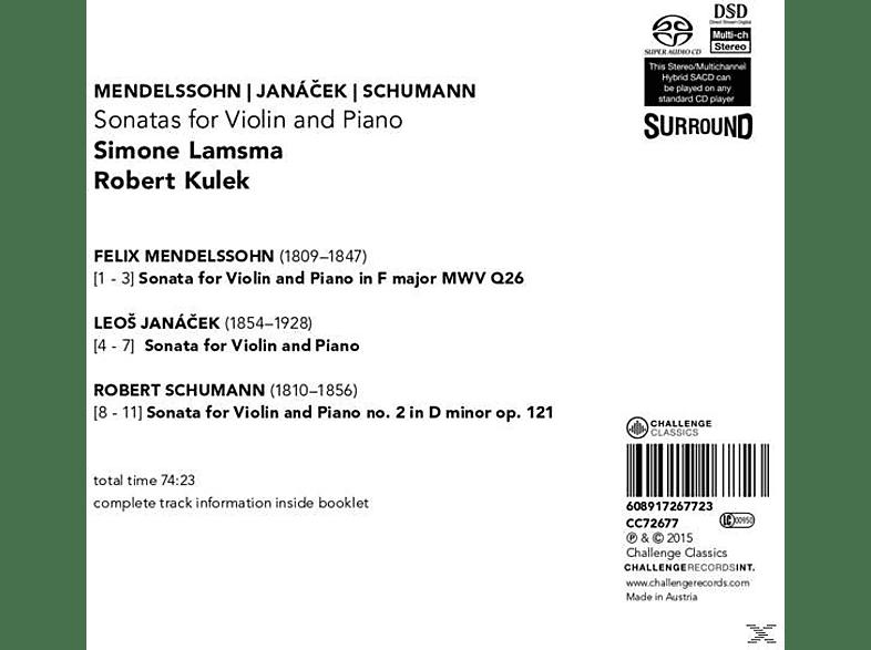 Simone Lamsma - Sonatas For Violin And Piano [SACD Hybrid]